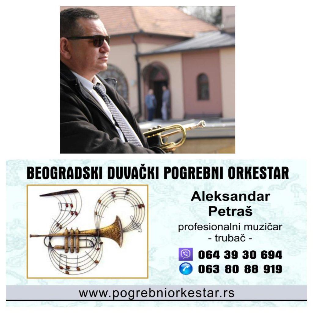 Solo truba,violina,hor ili orkestar za sahrane pogrebe